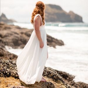 Bridal dress for photo shoot or after party.